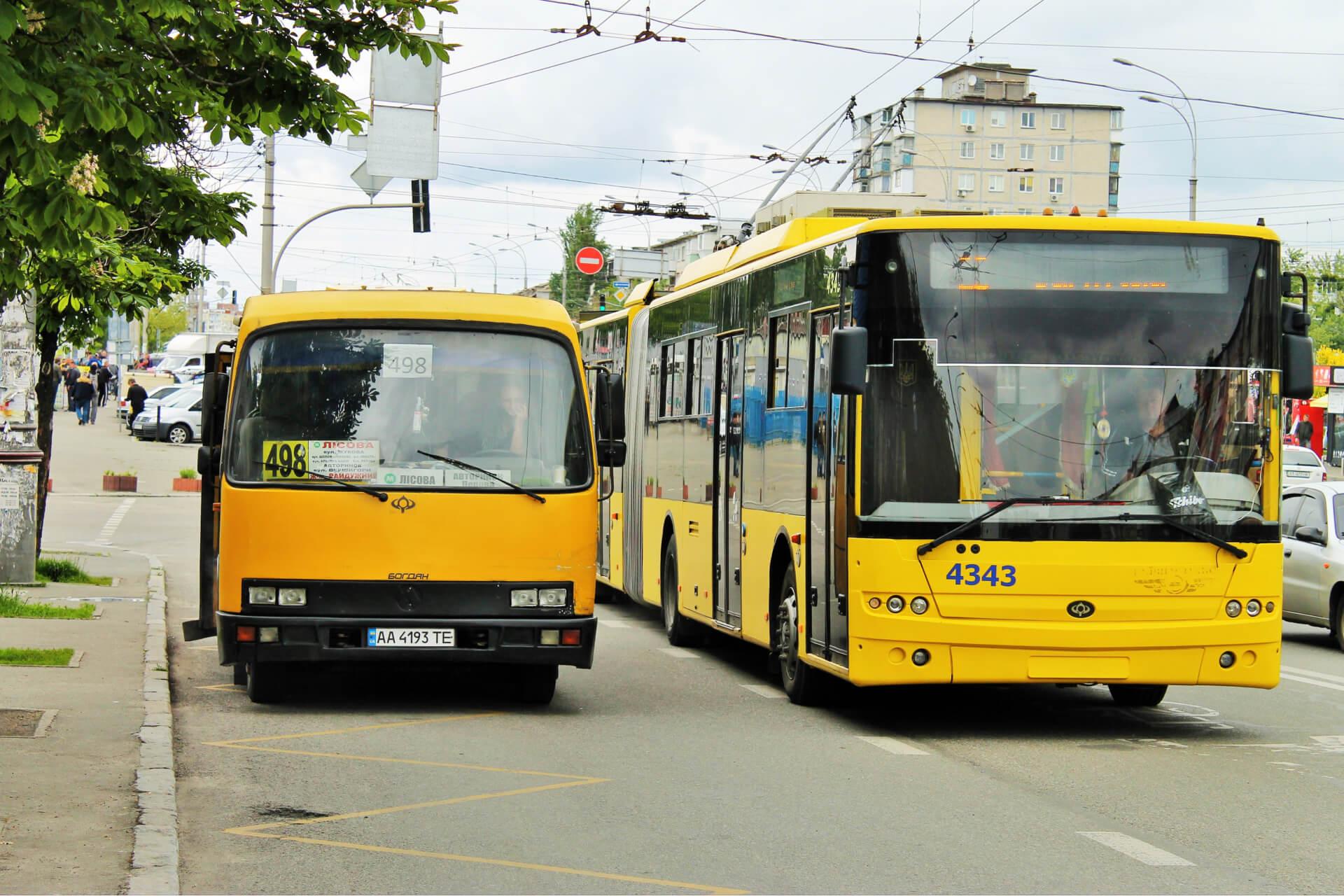 Нові правила користування громадським транспортом під час карантину в Києві
